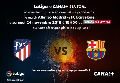 LaLiga Cine (Dakar) – Atlético de Madrid vs FC Barcelona